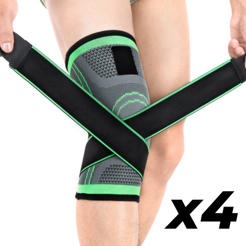 IRONSLEEVE™ - 3D KNEE COMPRESSION PAD (2 PAIRS)