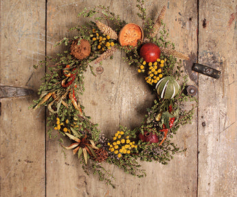 CD-1272 Nature's Bounty Wreath