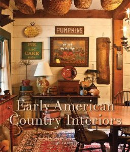 NV-BKCI Early American Country Interiors Book