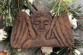 BB-X01 Darkened Wax Angel Ornament