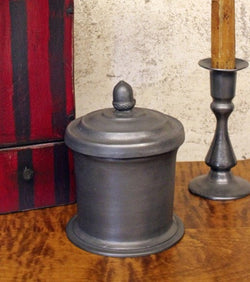 TPH-TC Pewter Tobacco/Tea Canister