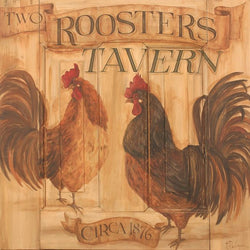 CWP-RT Roosters Tavern Board Sign