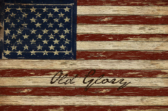 CWP-OGF Olde Glory Flag Board Sign