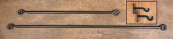 PC- SCR/LCR Iron Curtain Rod with Brackets