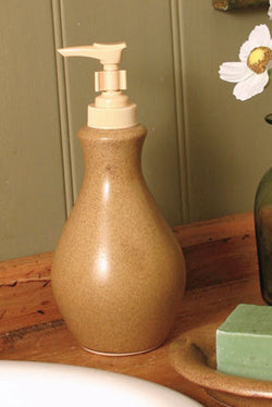ECP-SD Pottery Soap Pump Dispenser