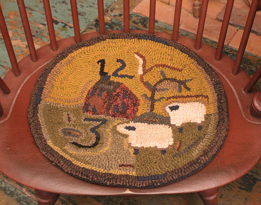 HD-CP-SH Counting Sheep Hooked Chair Pad