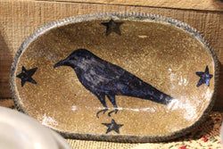 CC-LCP Lg Oblong Crow Plate