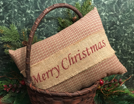 KEY-P1 Merry Christmas Pillow
