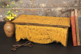 KJ-STR-M Scalloped Side Trunk [Grained Mustard]
