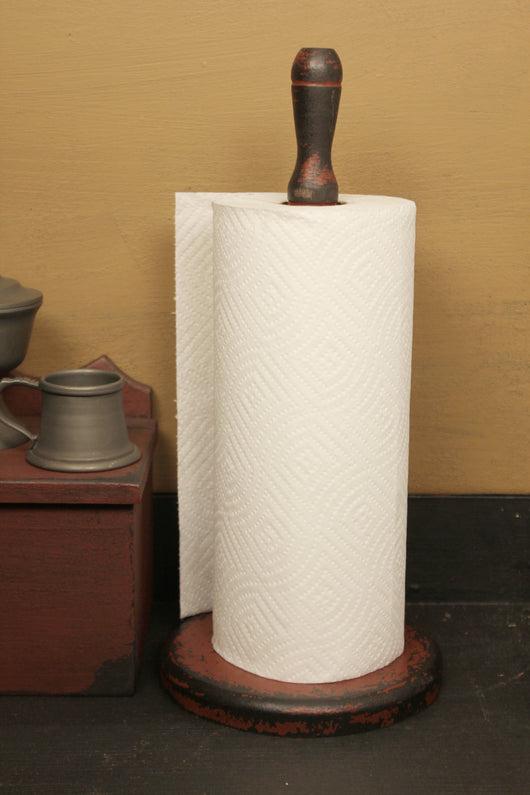 KJ-PTH-R Wooden Paper Towel Holder