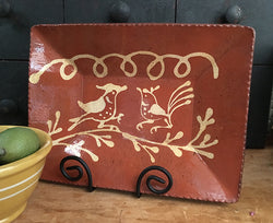 DTS-101 Birds Redware Tray