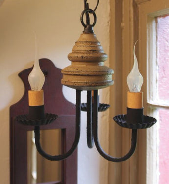 IR-3CL Bellview 3 Arm Chandelier