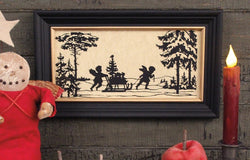 MB-1368 Tree Delivery Framed Silhouette