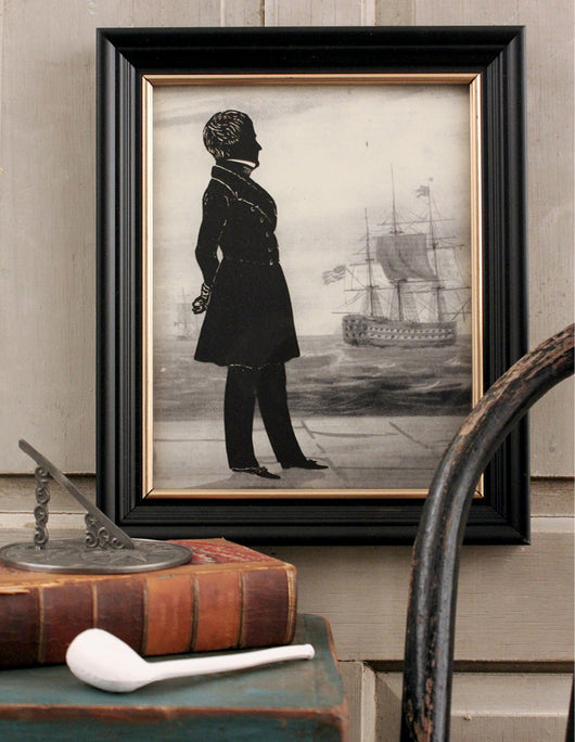 MB-1439 Sea Captain Silhouette