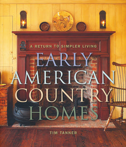 NV-BKCH Early American Country Homes Book