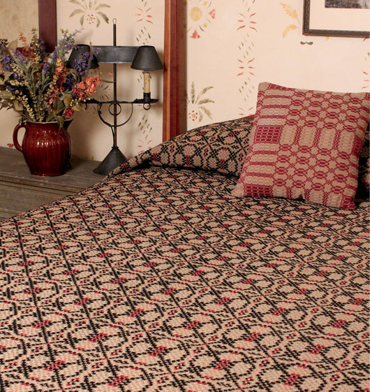 PC-CO-PK Patriot's Knot Queen Coverlet