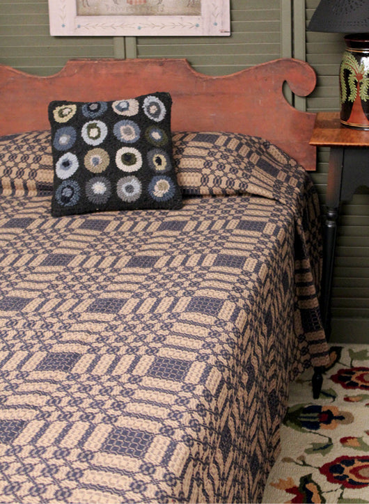 PC-CO-PM Portsmouth Queen Coverlet