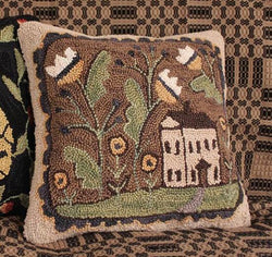 PD-1414 Hooked Cottage Pillow