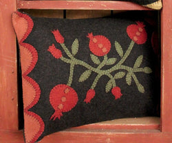 RG-1441 Pomegranate Felt Pillow