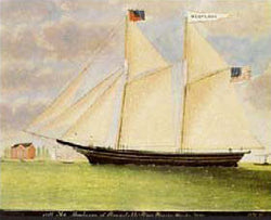 RM-265 Schooner Montana Canvas Transfer - Allow 3 to 4 weeks for delivery