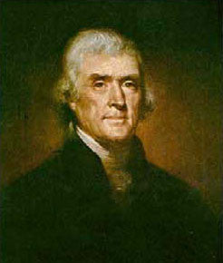 RM-497 Thomas Jefferson Canvas Transfer - Allow 3 to 4 weeks for delivery