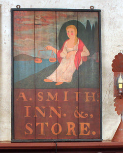 RM-ASI A. Smith Inn Tavern Sign - Allow 4-6 weeks for delivery