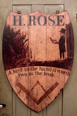 RM-HR H. Rose Wood Tavern Sign - Allow 4-6 weeks for delivery.