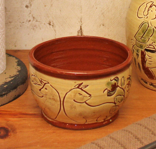 SJP-SB Small Sgraffito Bowl