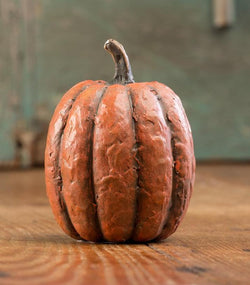 RA-1245T Small Tall Paper Mache Pumpkin
