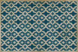 SP-BM Blue Mosque Vinyl Floor Mat