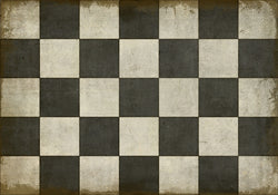 SP-CP Checkered Past Vinyl Floor Mat