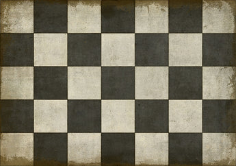 SP-CP Checkered Past 20x30 Vinyl Floor Mat