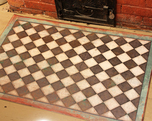 SP-CM Checkmate Vinyl Floor Mat
