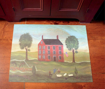 SP-GS The Good Shepherd 23x30 Vinyl Floor Mat