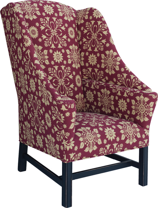 TC-JMC32 Miller's Creek Wing Chair (In Fabric Shown)