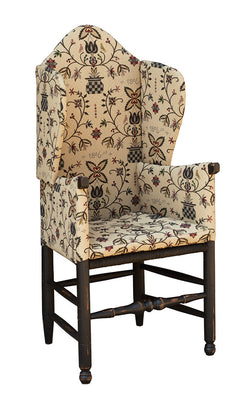 TC-MDW Make-do Wingback Chair (In Fabric Shown)