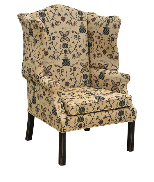 TC-UCCW Country Classic Wing Chair (In Fabric Shown)