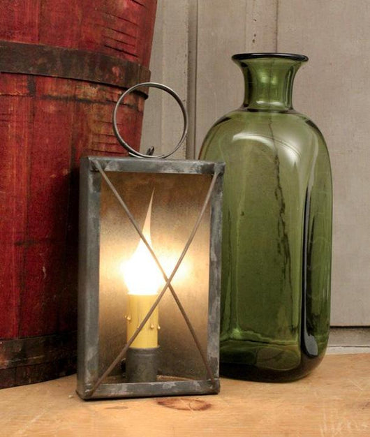 TP-1474 Electrified Tin Mantel Lantern