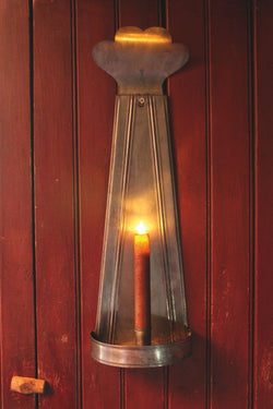 TP-154 Fan Top Tin Sconce