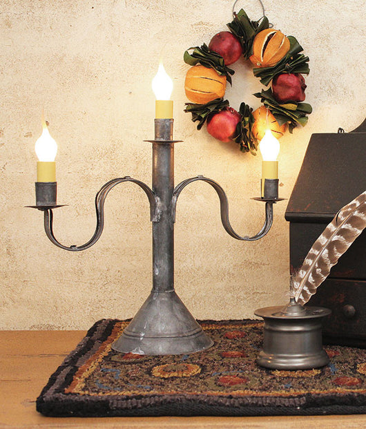 TP-263 Three Arm Candelabra - Allow 3-4 weeks for delivery