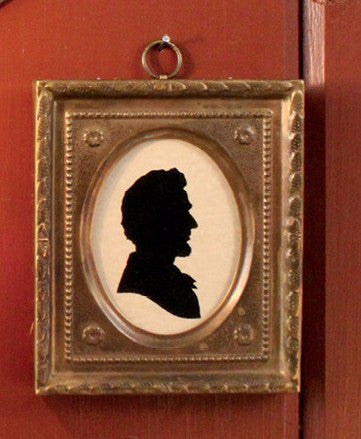 MB-AS Lincoln Framed Silhouette Prints