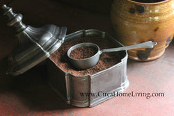 TPH-COF Pewter Coffee Scoop