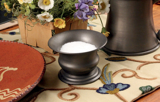 TPH-LSC Large Pewter Salt Cellar
