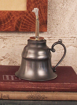 TPH-OIL Pewter Oil Lamp
