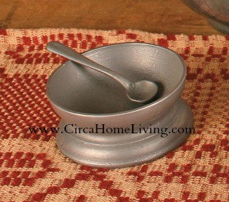 TPH-SC Everyday Pewter Salt Cellar