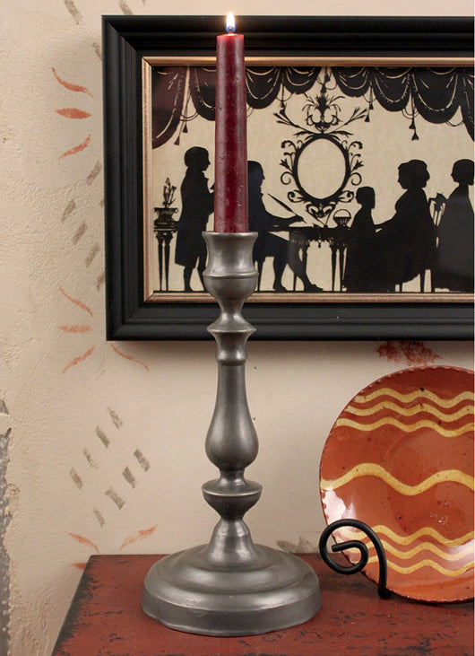 TPH-WMCS Pewter William & Mary Candlestick