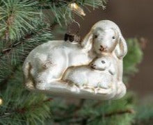 RA-034 Ewe & Lamb Ornament