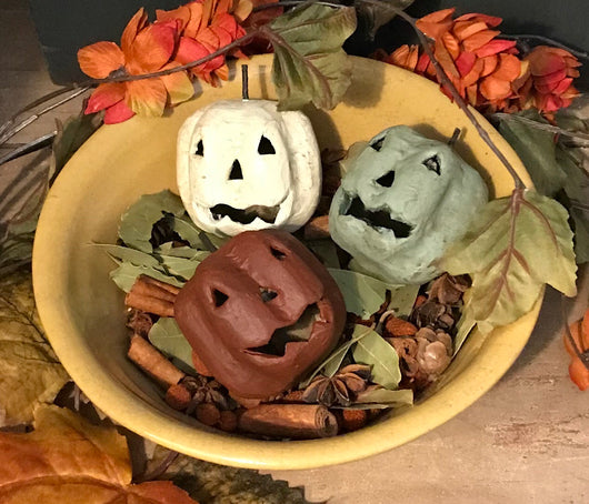 CDX-PJO Painted Jack-O's - Set of 3