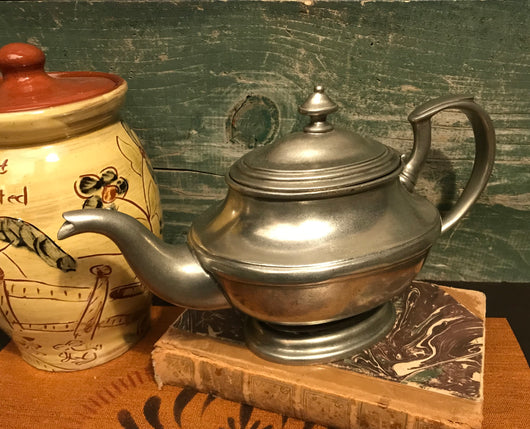 MB-0307-14 Pewter Tea Pot