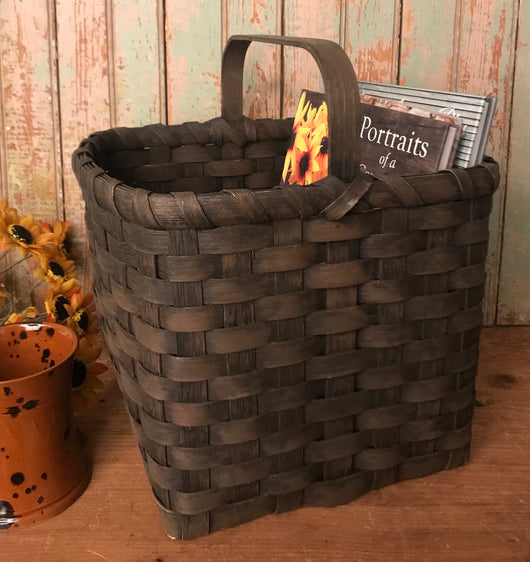 BG-B131 Black Square Basket